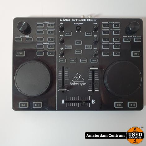 Behringer CMD Studio 2A DJ controller | Incl. garantie