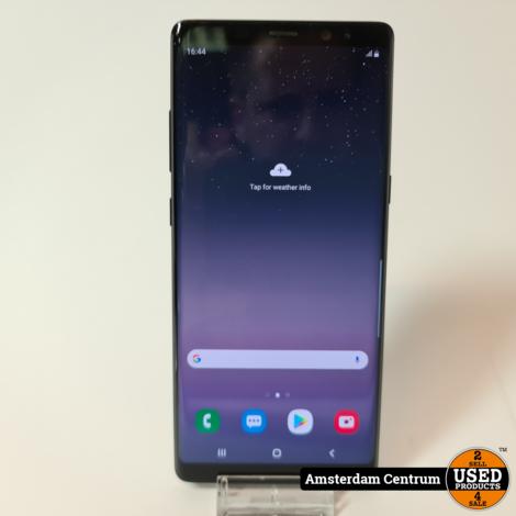 Samsung Galaxy Note 8 64GB Zwart | Incl. garantie