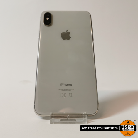 iPhone Xs Max 256GB Silver   Nette staat