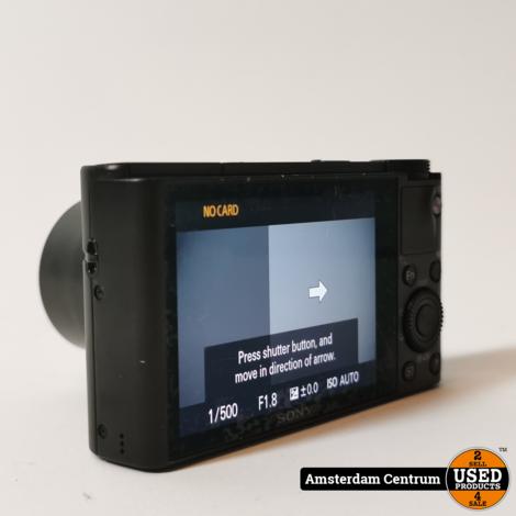 Sony DSC-RX100 Camera | Incl. garantie