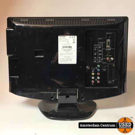 Sharp LC-19D1E-BK 19-inch TV | Incl. garantie