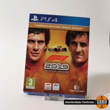 Sony Playstation 4 Game : F1 2019 Formule 1