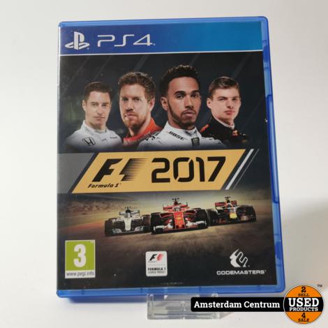Playstation 4 Game : F1 2017 Formule 1