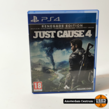 PlayStation 4 Game: Just Cause 4 Renegade Edition