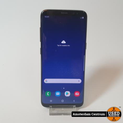Samsung Galaxy S8 64GB Black #2 | incl. Lader en Garantie