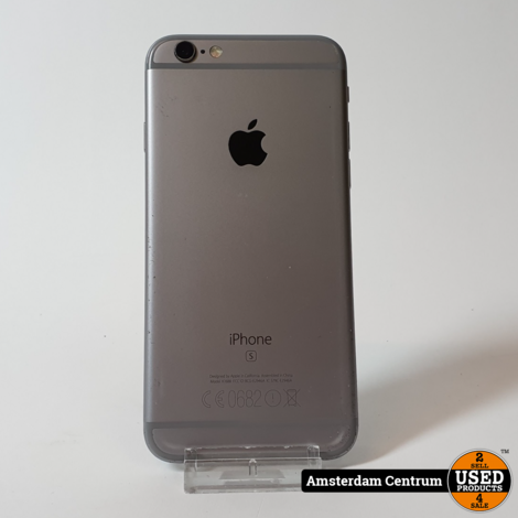 iPhone 6s 32GB Space Gray   In nette staat #4