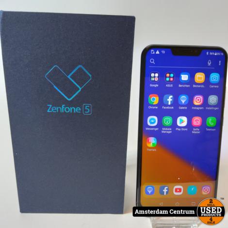 Asus Zenfone 5 64GB Blauw | Nette staat in doos