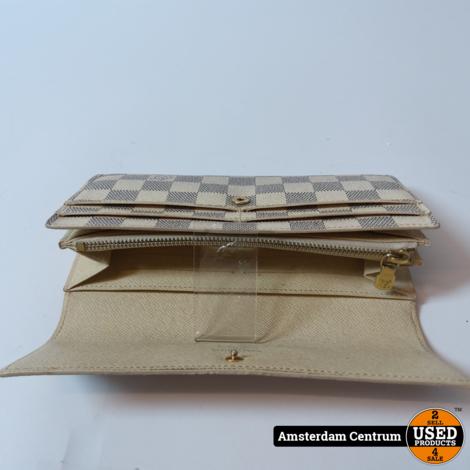 Louis Vuitton Sarah  Damier Azur Long Wallet 2012 Vintage