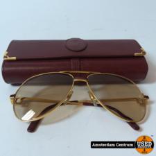Cartier Vendome Laque De Chine Vintage Zonnebril   Originele Glazen & Hoes
