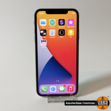 iPhone X 64GB Silver   In nette staat