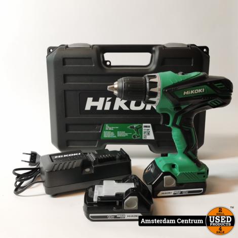 Hikoki DS18DJLWFZ Accu Boormachine | Compleet in Koffer