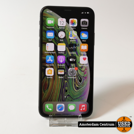 iPhone Xs 64GB Space Gray | Incl. lader en garantie