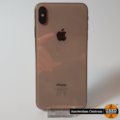iPhone Xs Max 64GB Goud/Gold | nette staat