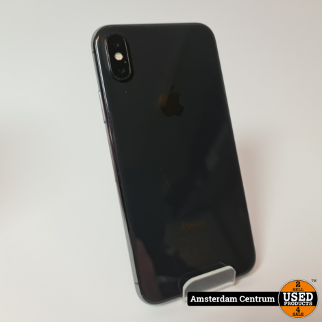 iPhone X 256GB Space Gray | Incl. garantie
