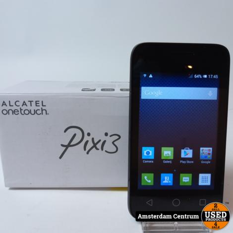 Alcatel OneTouch PIXI 3 4GB Zwart/Black   In nette staat