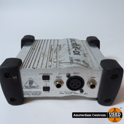 Behringer DI100 Ultra-DI Box | Incl. garantie