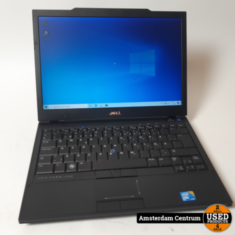 Dell Latitude E4300 4GB RAM 64GB SSD   Incl. lader