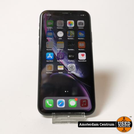 iPhone XR 128GB Black   Incl. garantie