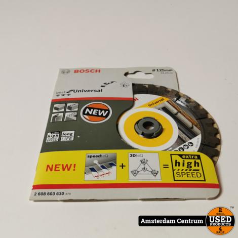 Bosch Professional Best voor Universal 125 x 22,23 x 2,2 x 12 mm | Nieuw