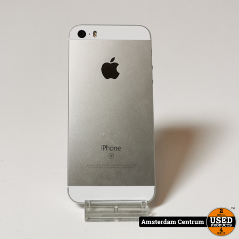 iPhone SE 32GB Silver | In nette staat