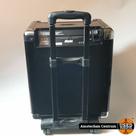 Alecto MPA-75BT Mobiele Geluidsinstallatie 40W   Incl. garantie