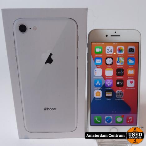 iPhone 8 64GB Silver | Nette Staat in Doos