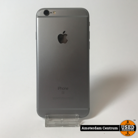 iPhone 6S 64GB Space Gray #5   Incl. garantie