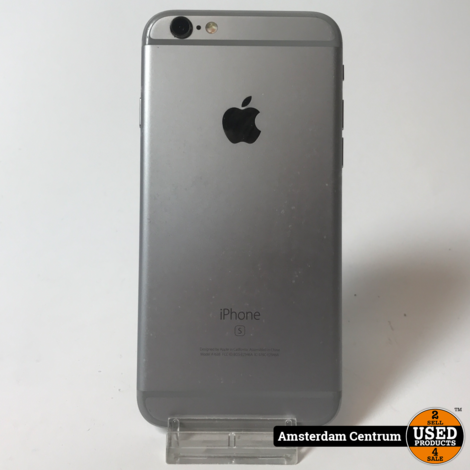 iPhone 6S 64GB Space Gray #1 | Incl. garantie
