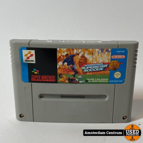 Super Nintendo Game: International Superstar Soccer