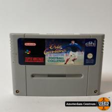 Super Nintendo Game: Eric Cantona Football Challenge