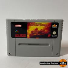 Super Nintendo Game: Super Battletank