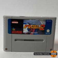 Super Nintendo Game: F1 Position 2