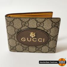 Gucci Gucci Neo Vintage GG Supreme Wallet   Excl. factuur
