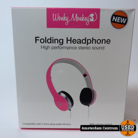 Wonkey Monkey WM HS-650 Koptelefoon | Nieuw