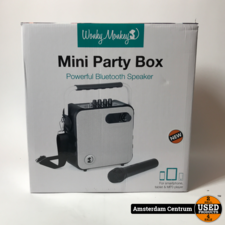 Wonky Monkey SP-BT3000 | Mini Party Box Bluetooth Speaker | Nieuw
