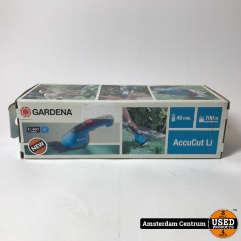 Gardena Grasschaar AccuCut Li-ion   Nieuw in doos