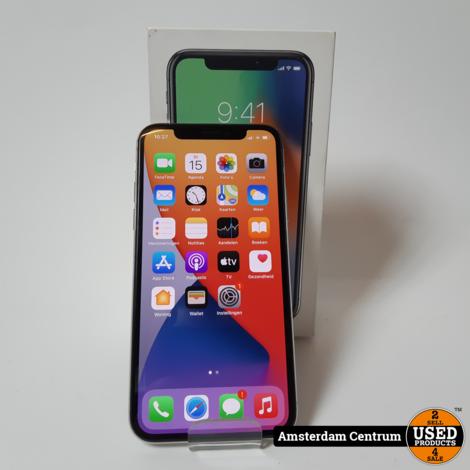 iPhone X 256GB Silver | Incl. garantie