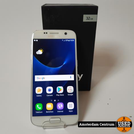 Samsung Galaxy S7 32GB Wit/White | Incl. garantie