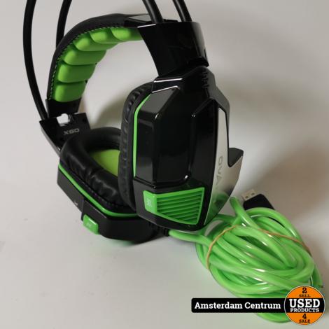 Ovann X60 Gaming Headset USB   Incl. garantie