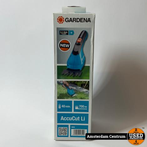 Gardena 9850 Accucut LI Grasschaar   Nieuw in doos