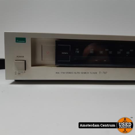 Sansui T-707 Stereo Tuner | Incl. garantie