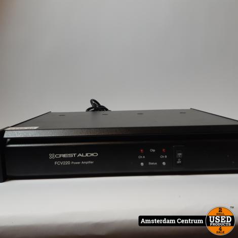 Crest Audio FCV220 Versterker Zwart | Incl. garantie