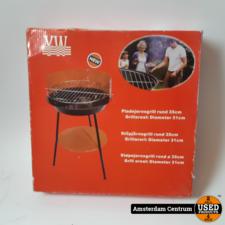 YW Barbecue 31CM Rood/Zwart | Nieuw in doos
