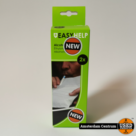 Easyhelp Alcoholtester (2Stuks) | Nieuw in doos