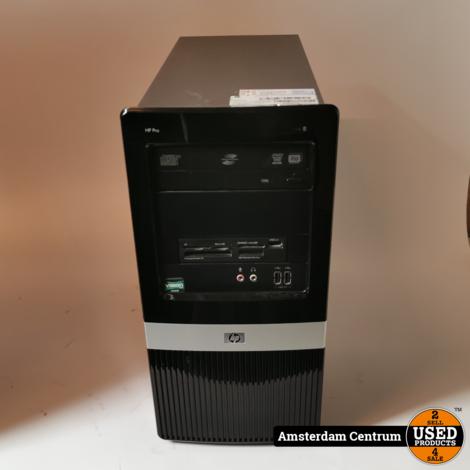 HP Pro 3135 MT Desktop | AMD Athlon II 4GB 300GB HDD | Incl. garantie