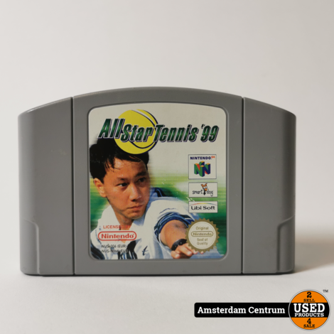 Nintendo 64 Game: All Star Tennis 99