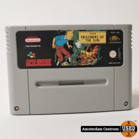 Super Nintendo Game: TinTin Prisoners Of The Sun