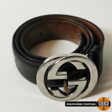Gucci Gucci GG Detail Signature Belt Brown 90CM | Incl. garantie