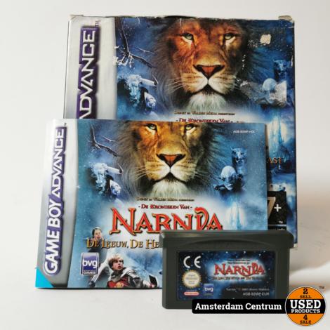 Gameboy Advance Game: Narnia De Leeuw De Heks en De Kleerkast
