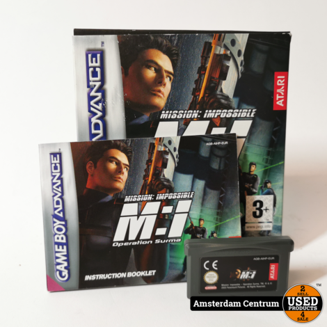 Nintendo Gameboy Advance Game:  Mission Impossible Operation Surma